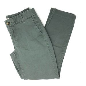 J. Crew Factory Olive Laney Chino Pants